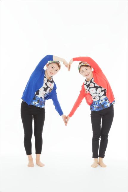 ふたり。『双子姉妹』のイメージ